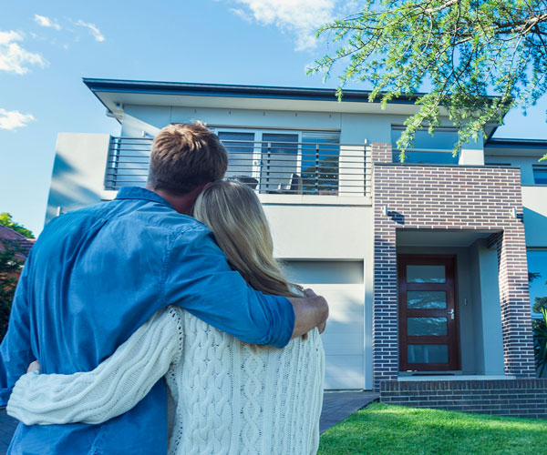 happiness of buying dream home